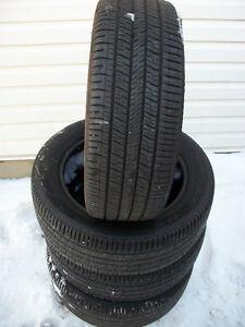 4  pneus d été 205 55 16  Goodyear eagle  120 $,,,,,514 571 6904