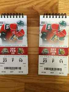 Halifax Mooseheads - Sat Feb. 20 - LOWER BOWL