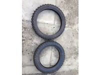 Pitbike parts tyres wheels