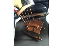 Children's Vintage Rocking Chair