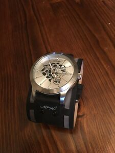 Ed Hardy Genuine Leather Watch  Strathcona County Edmonton Area image 1