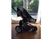 Quinny buzz travel system in black and grey