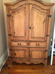 Beautiful antique-style armoire