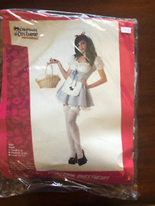 Dorothy Wizard of Oz Halloween Costume; Size Small; NEW