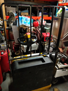 2011 Yale Electric Pallet Lift Truck in excellent condition