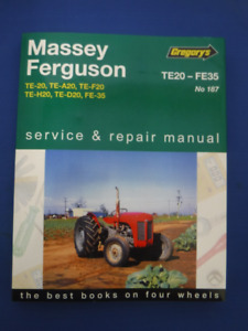 Ferguson TEA20 Farm Tractor Shop Service Repair Manual