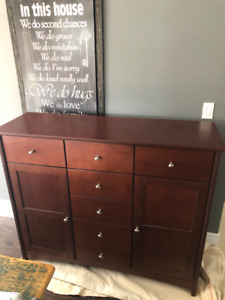 Maple Dresser - Cherry Stained