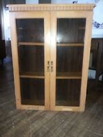 Wood Dispaly Cabinet