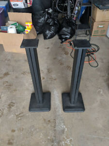 "Speaker Stands - 31"" Tall"