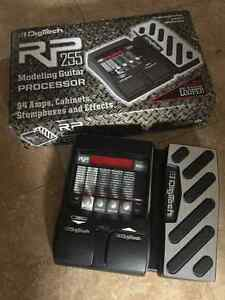 Guitar effects pedal.