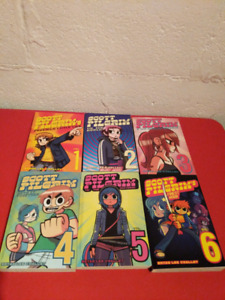 Scott Pilgrim comics 1-6 good condition