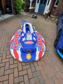 Sportsstuff Liberty Duo 2 person inflatable jetski/boat toy