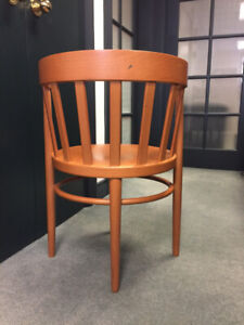 Italian cherrywood dining chairs