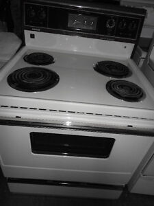 White Coil Stove in Good Condition