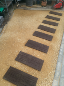 Garden Sleepers - Recycled Rubber