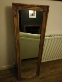 Gone pending collection - Antique gold vintage distressed mirror