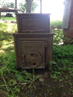 """Old wood stove for sale """"Kozy-40 Winlaw BC, Canada"""""""
