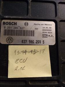 ECU  Bosch , VW 2.oL