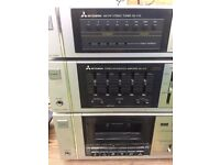 Mitsubishi retro amplifier