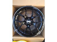 "BRAND NEW 19"" BBS BMW BLACK EDITION CONCAVE GTS M3 M4 M5 M6 M TECH ALLOY WHEELS- 3 SERIES 4 SERIES"