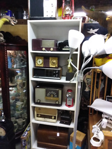 Vintage radio collection including Bakelite radios