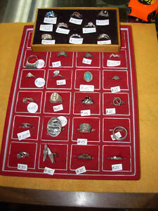Large Selection of 925 Silver Rings Cambridge Kitchener Area image 1