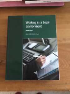 Working in a Legal Environment 2nd Edition
