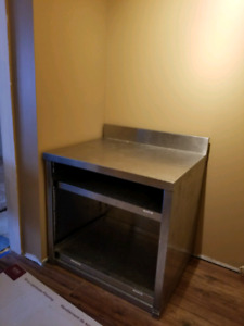 Stainless steel bar unit