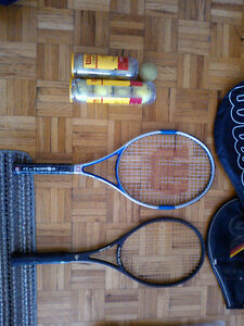 Tennis Racquet - Head & Wilson