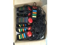 Wired buzz controllers