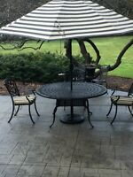 Cast Iron High End Outdoor Patio Furniture