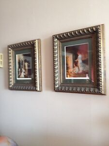 Pair of Paul Peel Framed Prints