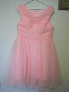 Pink 50's style Prom/Bridesmaid Dress