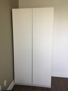 IKEA PAX 2 Door White Wardrobe