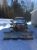 2006 Ford F-250  with Snow Dogg Plow