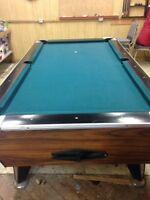 Billiards table best offer takes it