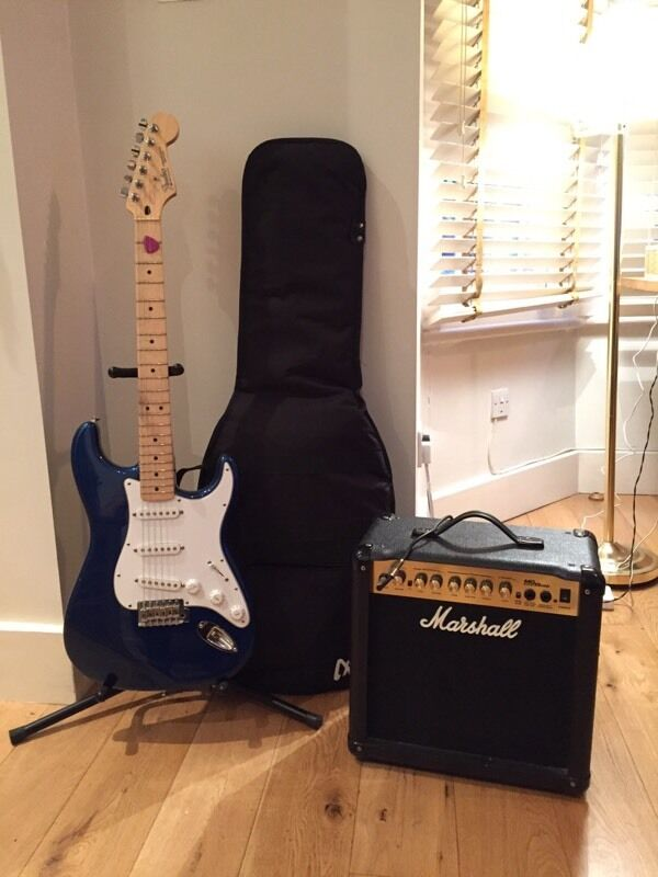 Fender Stratocaster - Mexico - Bundle - Amazing Guitar