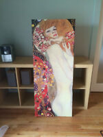 Ikea Klimt Print