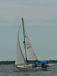 Excellent Mid-Sixed Family Cruising Sailboat for sale