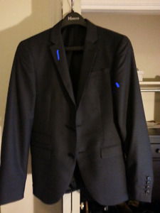 Suit Jacket - Gray Moore's Extreme Slim Fit