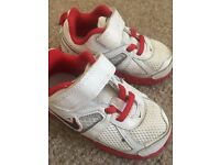 Boys Nike trainers size 7