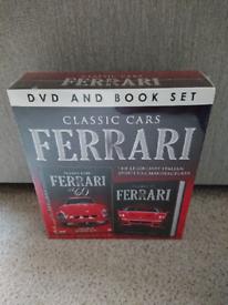 Classic Cars Ferrari: book and dvd set