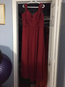 Beautiful Burgundy Dress St. John's Newfoundland image 5