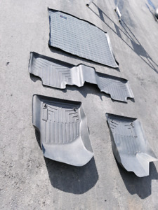 WeatherTech floor mats (cargo mat sold)
