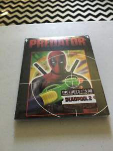 Special Deadpool Cover Predator Blu-ray (US Walmart Exclusive)