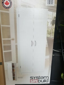 Two brand new Office/garage/ linen cabinets - $80