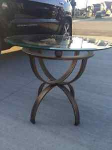 Coffee Table Set -  2 tables - Antiqued Bronze Edmonton Edmonton Area image 2