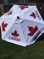 NEW MOLSON CANADIAN PATIO UMBRELLA