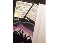 2 x Standing Stone Roses Tickets Wembley Stadium