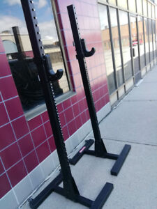 Xtreme Monkey Commercial Squat Stand Rack power half no bench